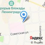 Кировский отдел по государственному энергетическому надзору на карте Санкт-Петербурга