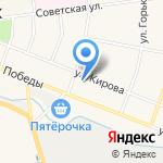 Магазин товаров для спорта на карте Санкт-Петербурга