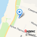 Валентина на карте Санкт-Петербурга