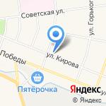 Кировская детская музыкальная школа на карте Санкт-Петербурга