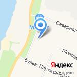 Линк на карте Санкт-Петербурга