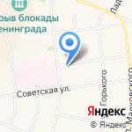 Дуэт на карте Санкт-Петербурга