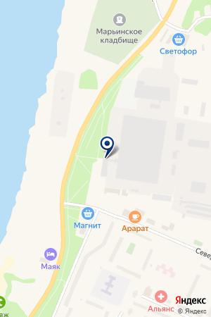 ЗАВОД ЛАДОГА на карте Кировска