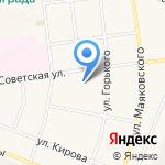 Невский на карте Санкт-Петербурга