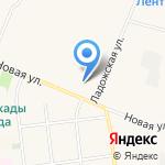 Средняя общеобразовательная школа №1 на карте Санкт-Петербурга