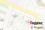 Схема проезда до компании Продуктовый магазин в Кировске