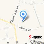 Лайн на карте Санкт-Петербурга