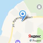 Орешек на карте Санкт-Петербурга