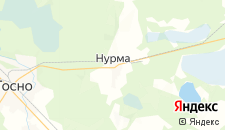Отели города Нурма на карте