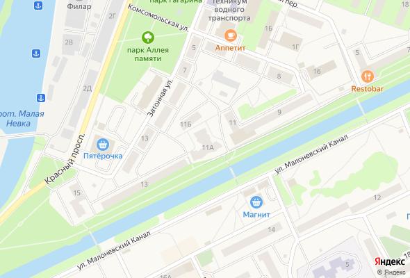 купить квартиру в ЖК Малоневский канал 11
