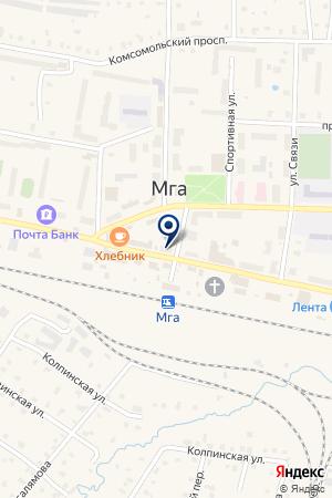 ПРОДОВОЛЬСТВЕННЫЙ МАГАЗИН РУСЛАН на карте Кировска