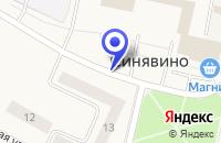 Схема проезда до компании АТЕЛЬЕ ВОРОБЬЕВА Н.Н. в Кировске