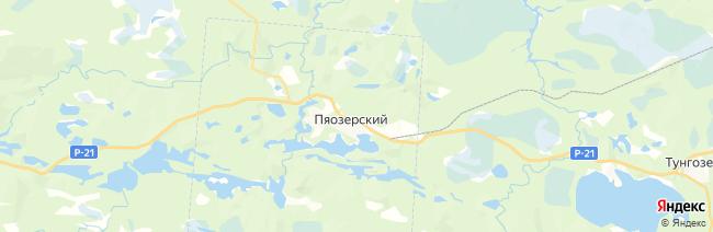 Паанаярви на карте