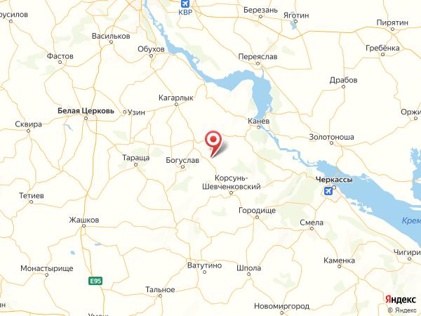 село Михайловка на карте