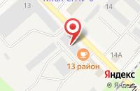 Схема проезда до компании На Объездной в Панковке