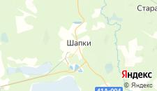 Отели города Шапки на карте