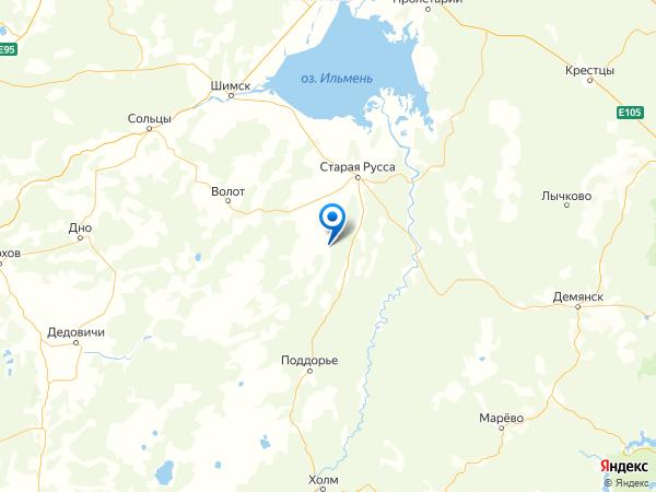 деревня Хорошево на карте