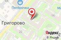 Схема проезда до компании Союз - М в Великом Новгороде