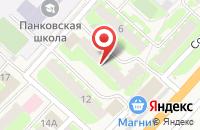 Схема проезда до компании Миронов Мебель в Панковке