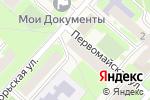 Схема проезда до компании ЭКСТРИМ 53 в Панковке