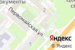 Схема проезда до компании Даниэль в Панковке