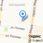 Виктория на карте Великого Новгорода