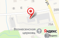Схема проезда до компании Компания по переработке древесины в Сырково