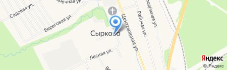 Банкомат Северо-Западный банк Сбербанка России на карте Сырково