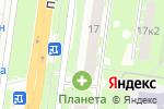 Схема проезда до компании Балтийский банк, ПАО в Великом Новгороде