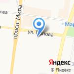 МОФ-М на карте Великого Новгорода