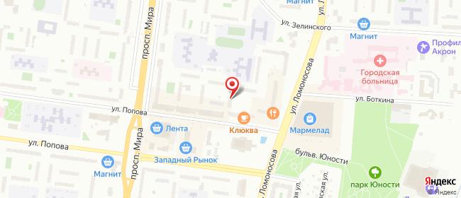 Карта расположения пункта доставки Халва в городе Великий Новгород