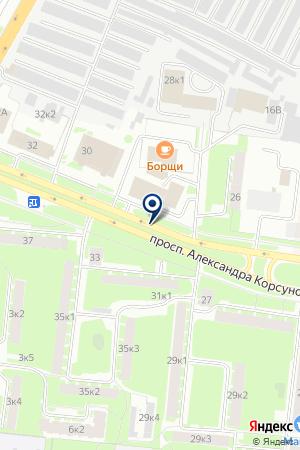 АВТОМАСТЕРСКАЯ КУЧИН П.И. на карте Великого Новгорода