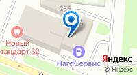 Компания Ригель на карте