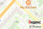 Схема проезда до компании Стрекоза в Великом Новгороде