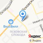 АрхиКо на карте Великого Новгорода