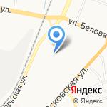 Средняя общеобразовательная школа №21 на карте Великого Новгорода