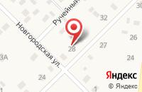 Схема проезда до компании Сервосервис в Павлово