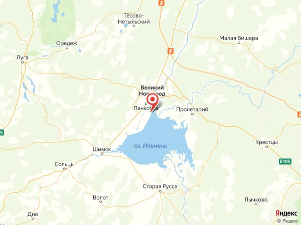 деревня Троица на карте