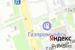Схема проезда до компании ГАЗПРОМНЕФТЬ в Великом Новгороде