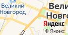 Новгородхлеб на карте