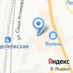 ЖелДорЭкспедиция на карте Великого Новгорода
