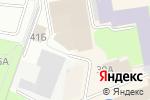 Схема проезда до компании Форд-центр в Великом Новгороде