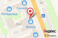 Схема проезда до компании Вив в Великом Новгороде
