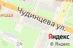 Схема проезда до компании Невис в Великом Новгороде