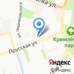 Центр управления в кризисных ситуациях на карте Великого Новгорода