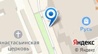 Компания Максима на карте