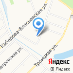 Веда на карте Великого Новгорода