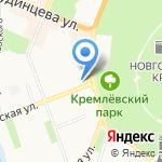 Бигуди на карте Великого Новгорода