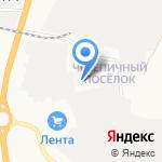 Новгородское спецавтохозяйство на карте Великого Новгорода