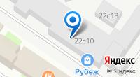 Компания Рубеж на карте